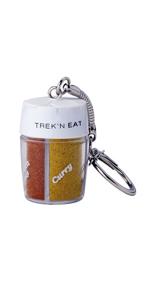 Trek'n Eat Kryddströare 4 Fack med separata öppningar-Nyckelring